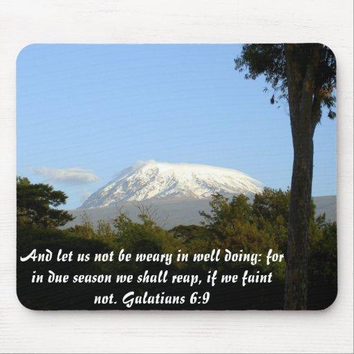 6:9 de Galatians Tapetes De Raton