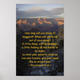 6:9 de los proverbios - poster 11