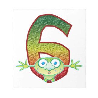 6 Age Ghoul Memo Note Pad