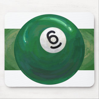 6 Ball Mouse Pad