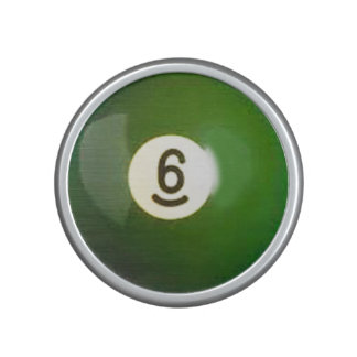 """""""6 ball"""" pool ball design gifts and products speaker"""