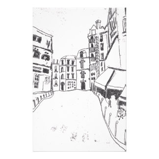 6 Bis Rue du Cloitre Notre Dame Paris Stationery