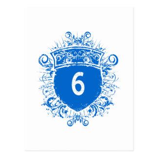 #6 Blue Shield Postcard