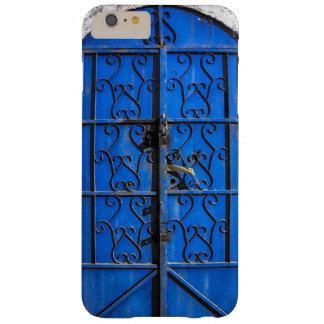 6+ Blue Steel Door Rustic vintage Jeddah Al Balad Barely There iPhone 6 Plus Case