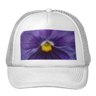 6 Bluest Blue Pansy Trucker Hat