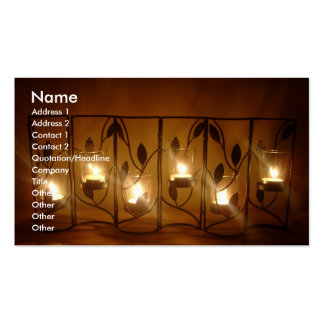 6 Candles Business Card
