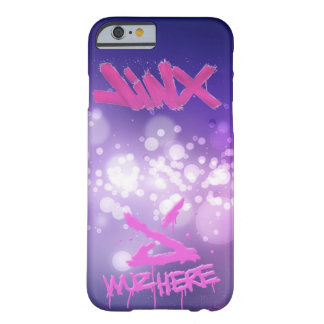 """6 Case iPhone """"Jinx wuz here """" Funda Barely There iPhone 6"""