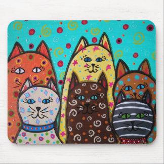 6 CATS MOUSEPADS