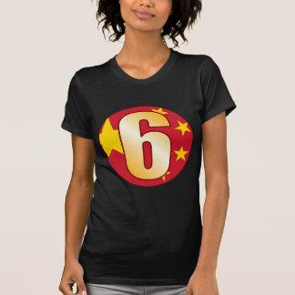 6 CHINA Gold T-Shirt