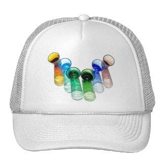6 Coloured Cocktail Shot Glasses -Style 12 Trucker Hat