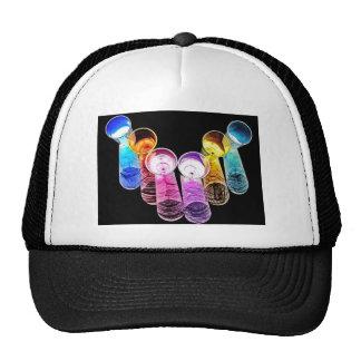 6 Coloured Cocktail Shot Glasses -Style 2 Trucker Hat