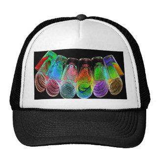 6 Coloured Cocktail Shot Glasses -Style 5 Trucker Hat