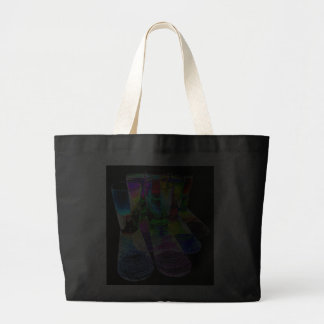 6 Coloured Cocktail Shot Glasses -Style 6 Canvas Bags