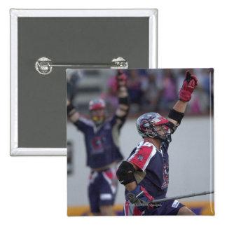 6 de julio de 2001:   Dave Evans #16 Boston Pin Cuadrada 5 Cm