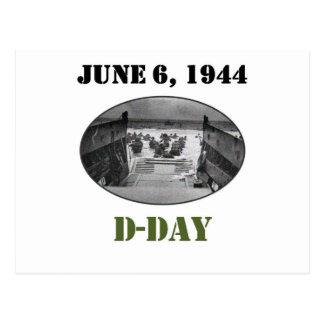 6 de junio de 1944: Día D Tarjetas Postales