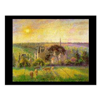 6 de junio saludando con arte y poesía tarjetas postales