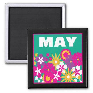 6 de mayo imán cuadrado