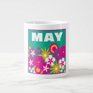6 de mayo taza grande