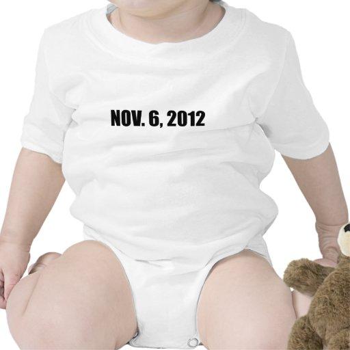6 DE NOVIEMBRE DE 2012 CAMISETAS