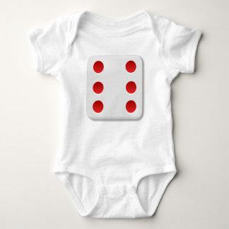 6 Dice Roll Baby Bodysuit