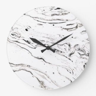 6 feet under marble rounded wall clock