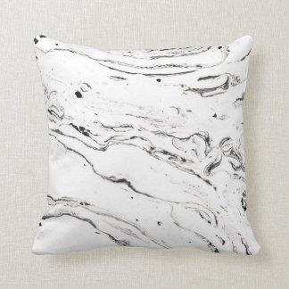 6 feet under marble throw pillow 16x16