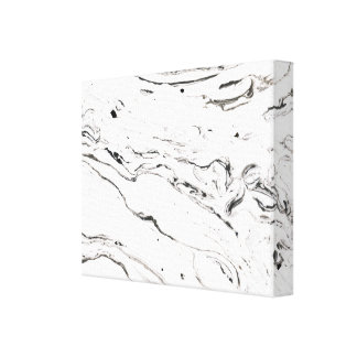 6 feet under marble wrapped canvas 14x11