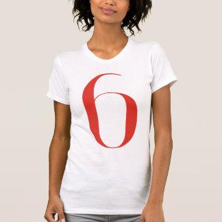 6 grandes: Jeanne Moderno Lettres Camiseta