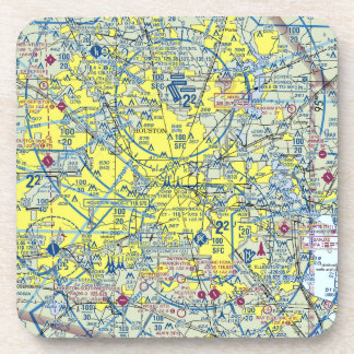 6 Houston Airspace Coasters