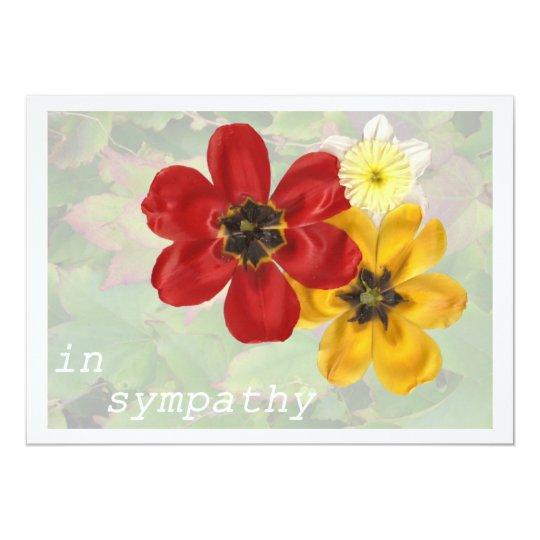 6 In Sympathy Card