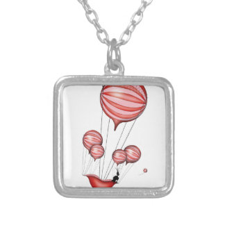 6) loss - tony fernandes silver plated necklace