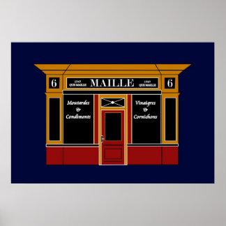 6 lugar de la Madeleine - una tienda parisiense Posters