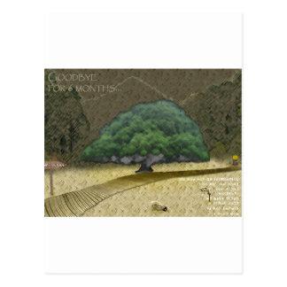 6 meses tarjetas postales
