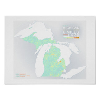 6 Miles in Michigan Poster