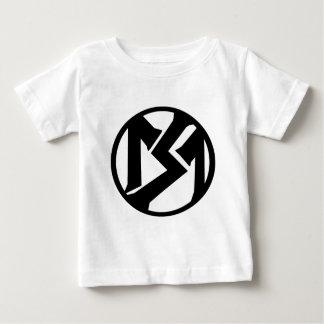 6 Month - 12 Month Smoking Minnows Circle T. Baby T-Shirt