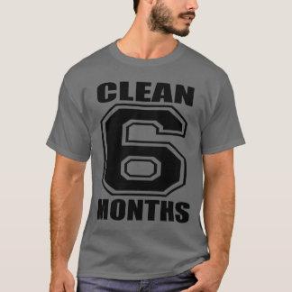 6 months clean black T-Shirt
