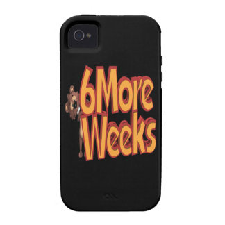 6 More Weeks Vibe iPhone 4 Cover