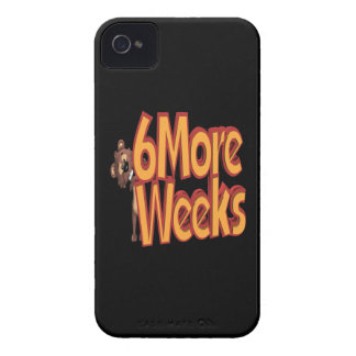6 More Weeks iPhone 4 Cover