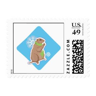6 More Weeks Stamp