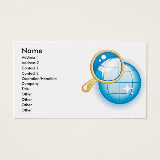 6, Name, Address 1, Address 2, Contact 1, Conta... Business Card