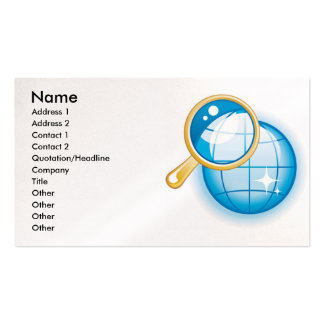6, Name, Address 1, Address 2, Contact 1, Conta... Double-Sided Standard Business Cards (Pack Of 100)