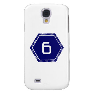 #6 Navy Tek Samsung S4 Case