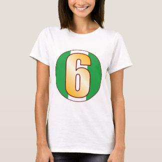 6 NIGERIA Gold T-Shirt