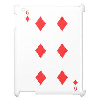 6 of Diamonds iPad Case