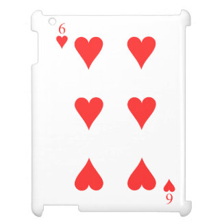 6 of Hearts Case For The iPad 2 3 4