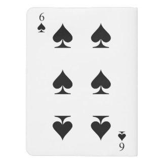 6 of Spades Extra Large Moleskine Notebook