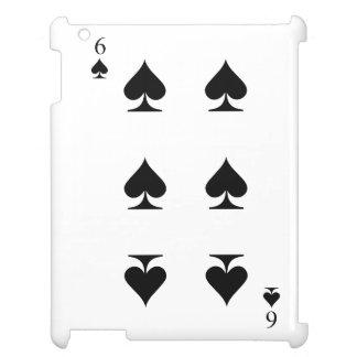 6 of Spades iPad Case