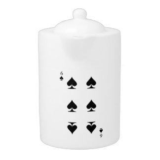 6 of Spades Teapot