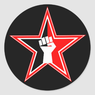 6 Pack Anarcho-syndicalist Revolutionary Stickers