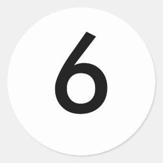 6 ETIQUETA REDONDA